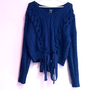 Absolutely beautiful Windsor navy blue sweater